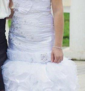 свадебное платья.