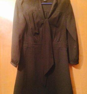 Шифоновое платье-туника H&М