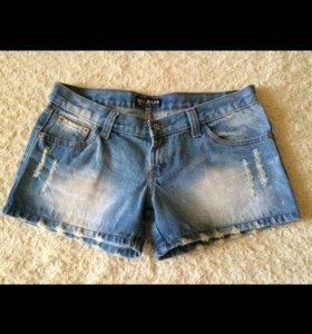 Шорты джинсовые новые, р-р S