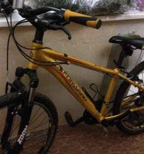 Велосипед Forward цвет золотой, рама 15