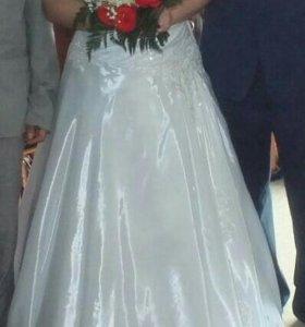 Свадебное платье+балеро