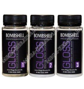 Пробный набор кератина bombshell gloss 3*100ml