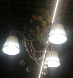 Светильник потолочный 3-х рожковый