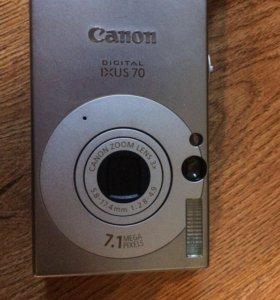 Фотоаппарат Canon Ixus 70
