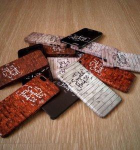 Чехлы на iPhone с любым изображением