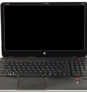 Ноутбук HP металлический