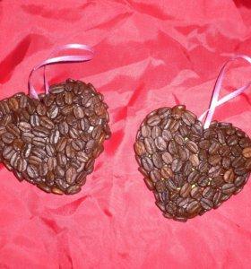 Кофейные валентинки