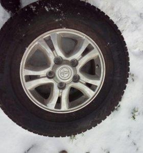 Колеса зимние
