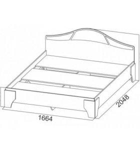 """Кровать""""Лагуна"""""""