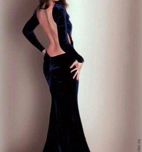 """Платье с открытой спиной """"Бурлеск"""""""