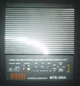 Автомобильный активный сабвуфер Mystery MTB-300A-