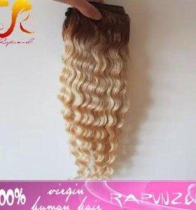 Волосы на заколках (натуральные)