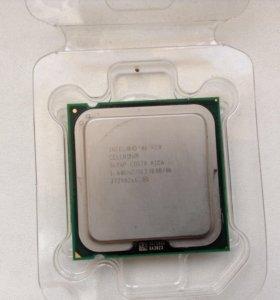 Процессор Intel Celeron 1.6 ггц с кулером