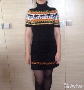 Платье вязаное 44 р-р