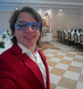 Ведущий с ди-джеем на свадъбу