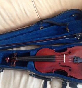 Скрипка 3/4 Мастеровая