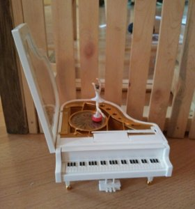 Пианино шкатулка