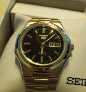 Новые мужские механические часы Seiko 5 оригинал