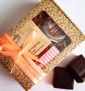 Подарочный набор (мыло и бальзам для губ)