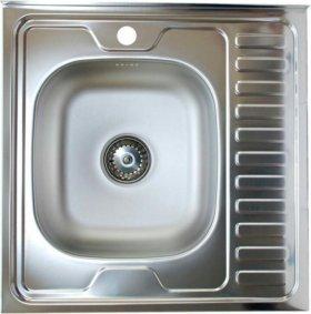 Кухонная мойка 60*60 (сталь 0,6)