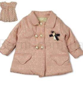 Комплект пальто и платье Cassiope