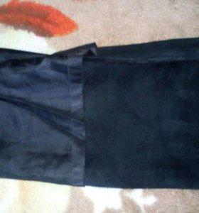 Кожаные брюки размер талии 36