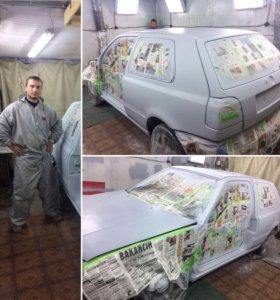 Покраска авто ремонт бамперов кузовной ремонт