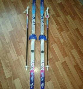 Лыжи детские для начинающих
