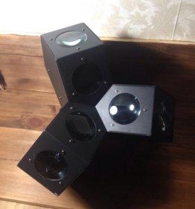 Динамический прожектор involight ledrx600