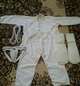 Кимоно детское Грин Хилл с комплектом защиты