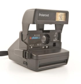 ФОТОАППАРАТ POLAROID 636 CLOSE UP новый