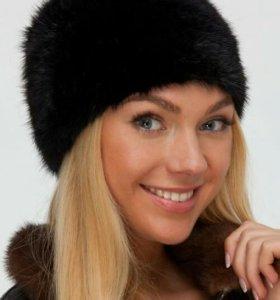 Норковая шапка (новая )