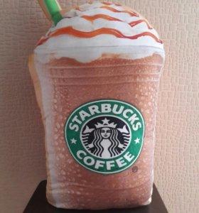 Новая декоративная подушка Starbucks