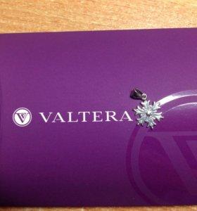 Подвеска снежинка из Valtera