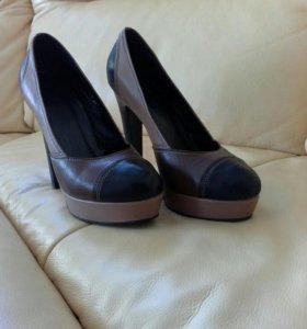 Продаю кожаные туфли!