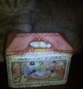 Жестяная коробка 10 на 14