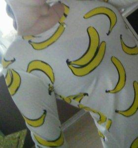 Водолазка с бананами