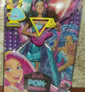 Барби поющая рок-принцесса