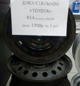 Диск стальной Toyota