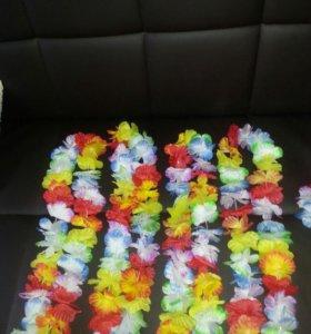Лейи для гавайской морской вечеринки 15 шт