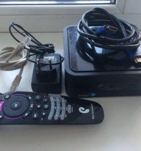 Продаю ТВ-приставку от Ростелеком в комплекте