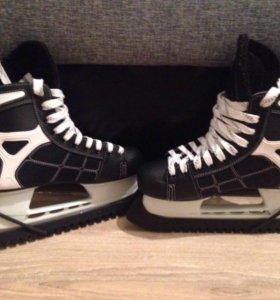 Коньки хоккейные cсm pro, размер 40