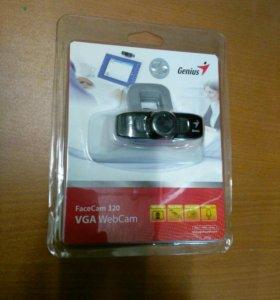 Камера Web Genius FaceCam 320 USB 2.0 с микрофоном