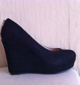 Туфли(замшевые)
