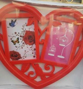 Фото рамки сердце