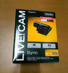 Камера Web Creative Live! Cam Sync