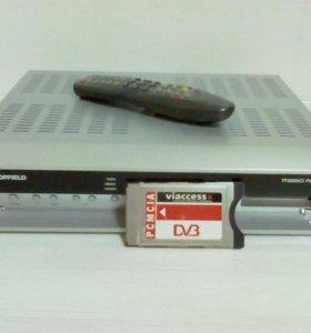 Ресивер спутниковое ТВ.