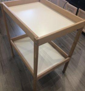Детский пеленальный стол