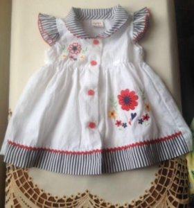 Красивое платье с повязкой