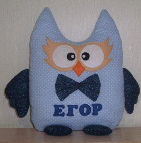 Подушка-игрушка для Егора